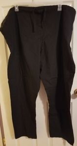 ❤️SB Unisex scrubs pants black